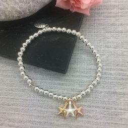 Life Charm Just Because Congratulations Silver Bracelet LC044BW