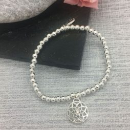 Life Charm Just Because Dreams Come True Silver Bracelet LC045BW