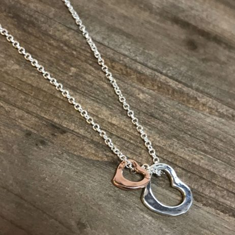 Life Charms Best Mum In The World Hearts Necklace