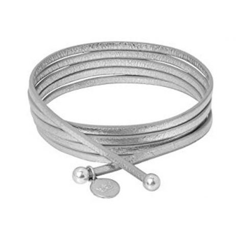 Sence Copenhagen 2 in 1 Silver Leather Necklace