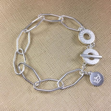 Sence Copenhagen Essentials Silver Plated Links Bracelet