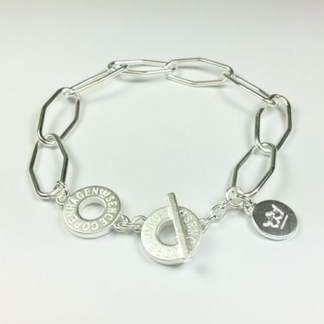 Sence Copenhagen Essentials Silver Plated Links Bracelet