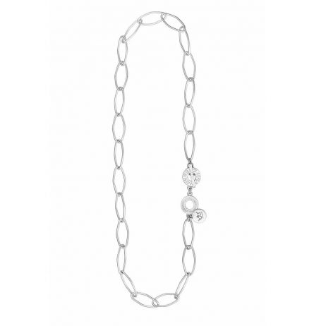 Sence Copenhagen Essentials Silver Plated Links Short Necklace