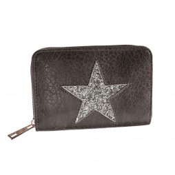 Hot Tomato Star Purse Grey