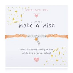 Joma Jewellery Girls A Little Make A Wish Bracelet C433