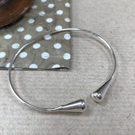 Gracee Jewellery Silver Open Bangle