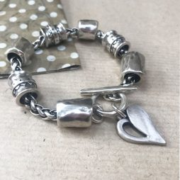 Danon Jewellery Simply You Chunky Bracelet Silver B3897S