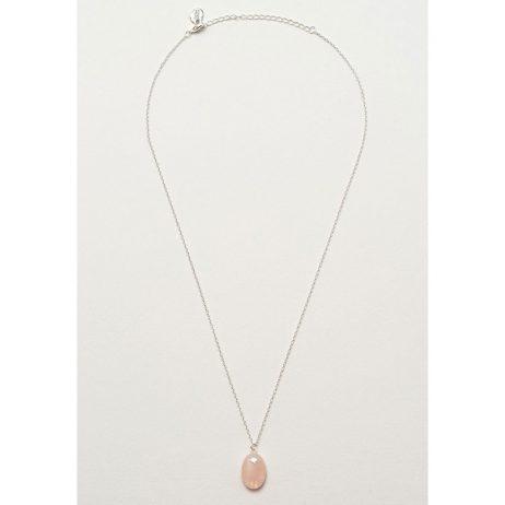 Estella Bartlett Rose Quartz Pendant Necklace EB3199C