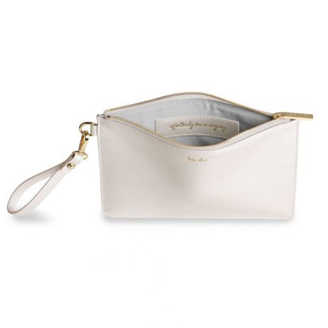 Katie Loxton Secret Message Pouch - Tres Chic Effortlessly Chic In Every Way KLB520