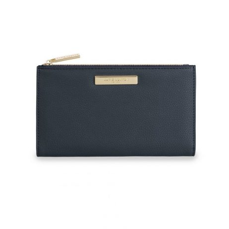 Katie Loxton Alise Soft Pebble Foldout Purse Navy KLB532