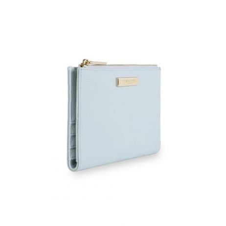 Katie Loxton Alise Soft Pebble Fold Out Purse Pale Blue KLB533