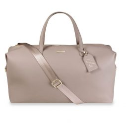 Katie Loxton Weekend Holdall Duffel Bag Taupe KLB577