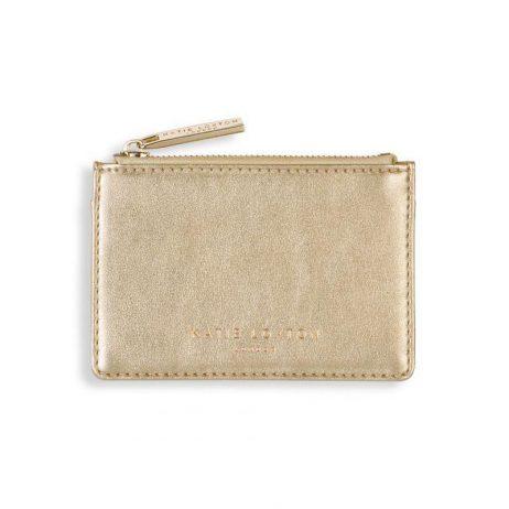 Katie Loxton Alexa Metallic Gold Card Holder KLB512