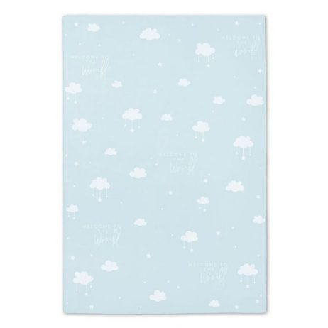 Katie Loxton Baby Blue Blanket Welcome To The World BA0030