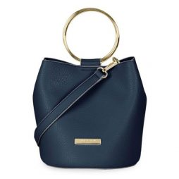 Katie Loxton Suki Bucket Bag - Navy KLB464