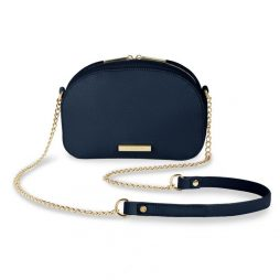 Katie Loxton Half Moon Bag - Navy KLB466