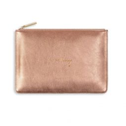 Katie Loxton Perfect Pouch Yay For Vacay - Bronze KLB494
