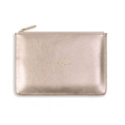 Katie Loxton Perfect Pouch Time To Shine - Rose Gold KLB496