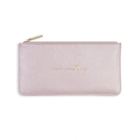 Katie Loxton Serena Slim Pouch Pretty Little Things Pink KLB516