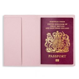 Katie Loxton Passport Holder Love Life Blush Pink - KLB526