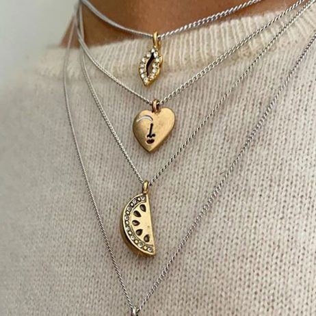 Hultquist Jewellery Fun In The Sun Watermelon Necklace 1537BI