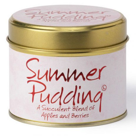 Lily-Flame Summer Pudding Scented Candle Tin