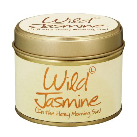 Lily-Flame Wild Jasmine Scented Candle Tin