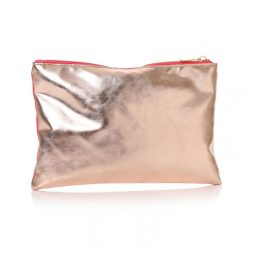Shruti Designs Ta Da Hygge Cosmetic Bag Pouch | Pink and Gold 59352