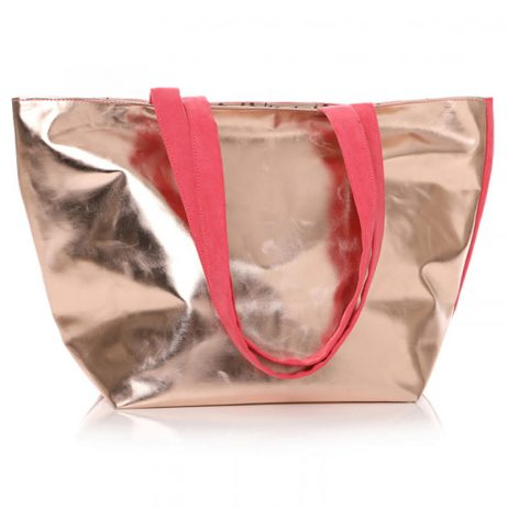 Shruti Designs Ta Da Lips Hot Pink Tote Bag By Lisa Buckridge