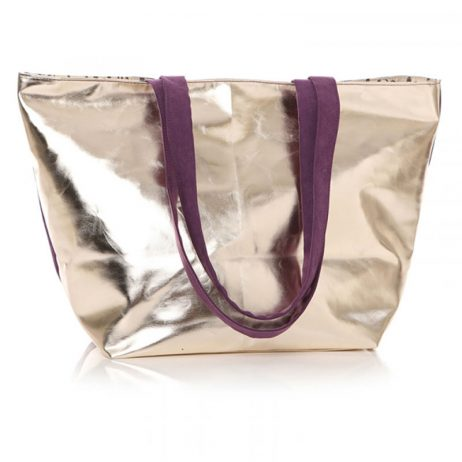 Shruti Designs Ta Da Star Purple Tote Bag By Lisa Buckridge