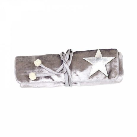 Shruti Designs Ta Da Light Grey Star Jewellery Roll By Lisa Buckridge