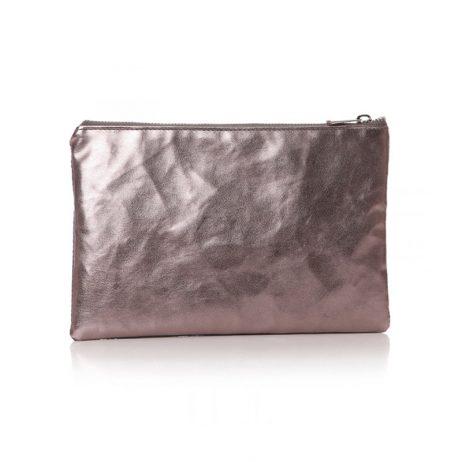 Shruti Designs Ta Da I Like Cosmetic Bag Pouch | Grey and Silver