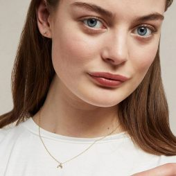 Estella Bartlett Mini Rainbow Gold Plated Necklace EB3446C