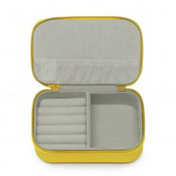 Estella Bartlett Yellow Mini Jewellery Box Happy Thoughts EBP2369