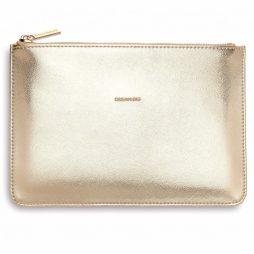 Personalised Estella Bartlett Dream Big Gold Pouch | Clutch Bag