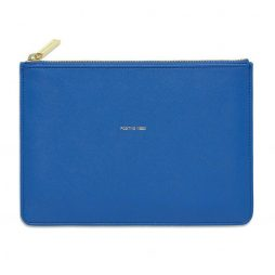 Estella Bartlett Positive Vibes Royal Blue Pouch