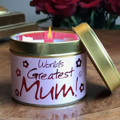 Lily-Flame World's Greatest Mum Candle Tin