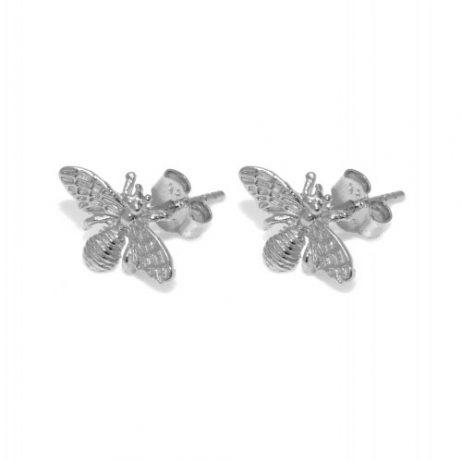 Hultquist Jewellery Bee Earrings Sterling Silver S03008S