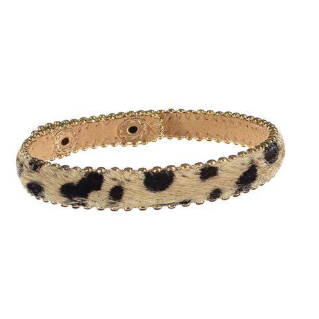 Hot Tomato Jewellery Animal Print Bracelet