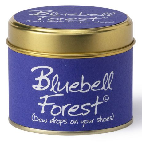 Lily-Flame Bluebell Forest Scented Gift Candle Tin