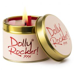 Lily-Flame Dolly Rocker Scented Gift Candle Tin 1dol
