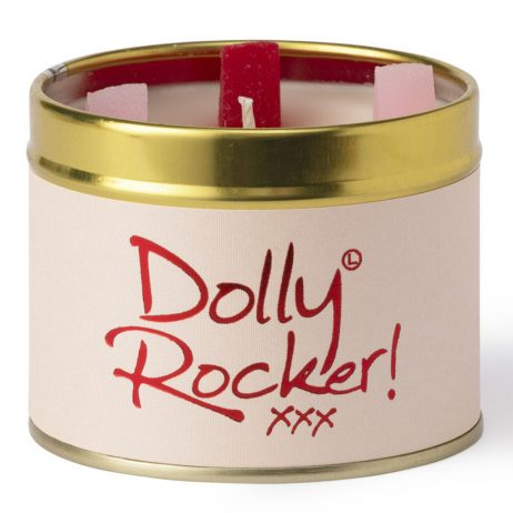 Lily-Flame Dolly Rocker Scented Gift Candle Tin