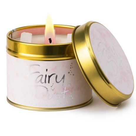 Lily-Flame Fairy Dust Scented Gift Candle Tin