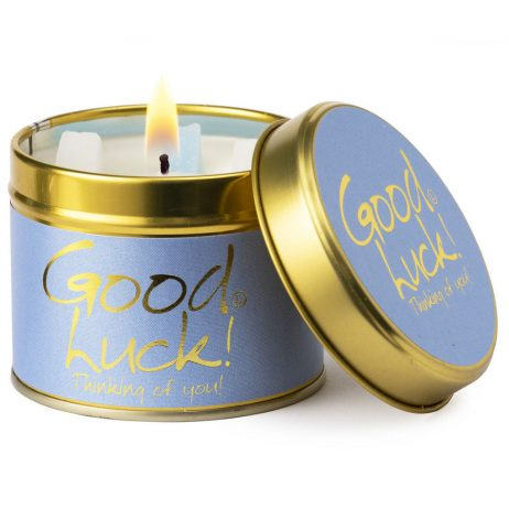 Lily-Flame Good Luck Scented Gift Candle Tin