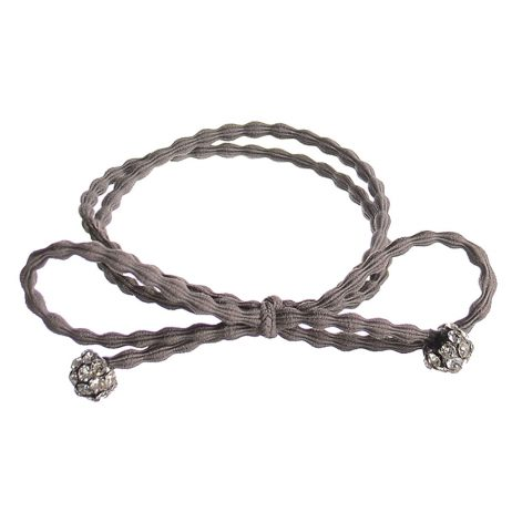 Hot Tomato Jewellery Grey Meteor Bracelet Band and Hair Tie