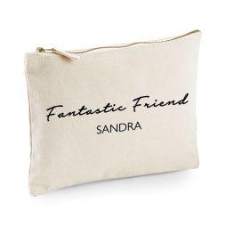 Personalised Fantastic Friend Makeup Bag