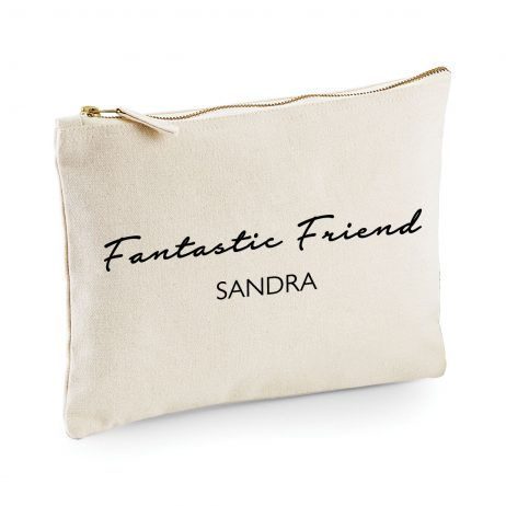 Personalised Fantastic Friend Makeup Bag