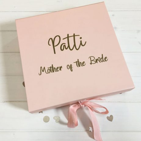 Personalised Mother of the Bride Luxury Gift Box with Ribbon - Medium