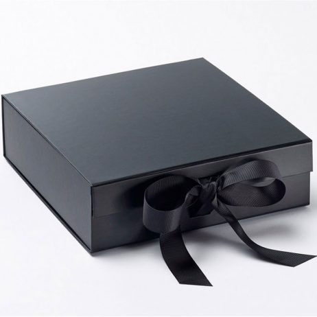 Personalised Best Man/Usher Luxury Gift Box with Ribbon - Medium
