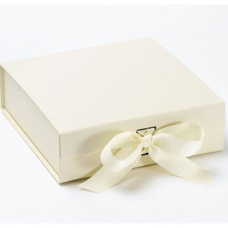 Happy Birthday Personalised Name and Age Luxury Gift Box with Ribbon - Large
